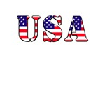 USA T-Stars and Stripes design