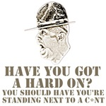 Drill Sergeant shirts to offend