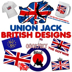 Union Jack Clothing for Kids and Adults