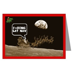 Funny Online Cards for Christmas,funny Santa theme