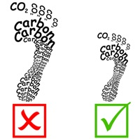 Carbon footprint shirts for green people