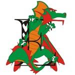 Dragon E Personalized T-shirts & Gifts