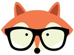 Hipster Red Fox 2