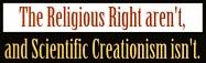 Religous Right aren't