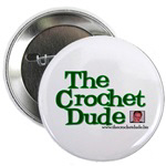 The Crochet Dude™ Stickers & Buttons