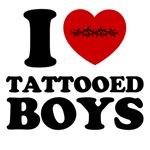 i heart tattooed boys