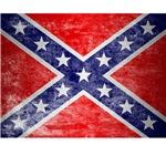 distressed confederate flag