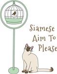 Siamese Aim To Please