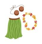 Hawaiian Hula Girl Outfit