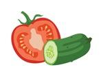 Tomato Cucumber Vegetable