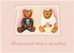 Teddy Bear Thank You Wedding