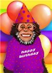 Age Specific Birthday Monkeys