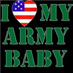 I Love My Army Baby