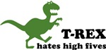 T-rex hates high fives