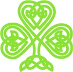Cute Celtic clover