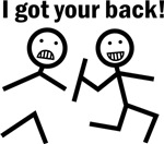 Funny Ive got your back