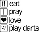 eat play love and play darts