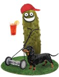Lawn Mowing Pickle