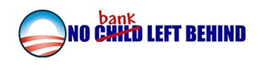 No Bank Left Behind Bumper Sticker