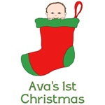 Personalized Christmas Stocking Baby