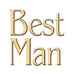 Golden Best Man t-shirts & gifts