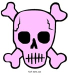 Pink Skull t-shirts & gifts
