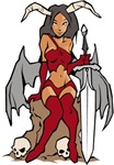 Devil Girl tattoo t-shirts & gifts