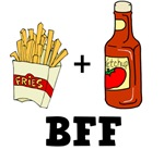 Ketchup & French Fries BFF