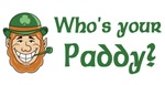 Who's Your Paddy t-shirts & gifts