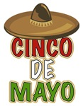 Cinco de Mayo t-shirts & gifts