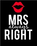 Mrs always Right white