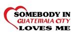 Somebody in Guatemala City loves me