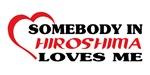 Somebody in Hiroshima loves me