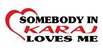 Somebody in Karaj loves me