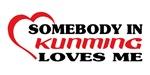 Somebody in Kunming loves me