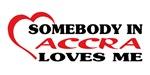 Somebody in Accra loves me
