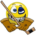 SMILE if you love hockey ! !
