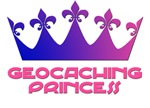 Geocaching Princess Blue/Pink