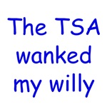 The TSA Wanked my Willy