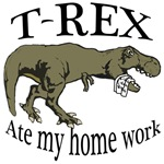 T Rex ate