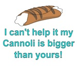My cannoli is bigger than yours!