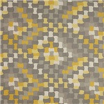 Gray and Golden Checkerboard