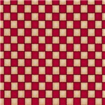 Red and Tan Checkerboards