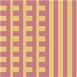 Rosy Teeth Comb Stripes