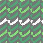 Green Gray Check Mix