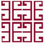 Red Greek Tile