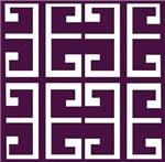 Deep Purple Tile