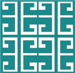 Turquoise Blue Tile