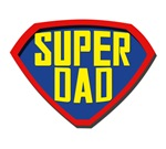 Father's day: SUPER DAD t-shirts and gifts for dad