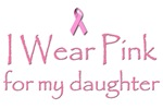 Breast Cancer Awareness: I wear Pink for my daught